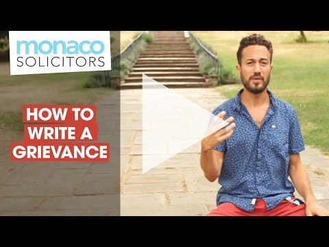 how-to-write-a-grievance-letter