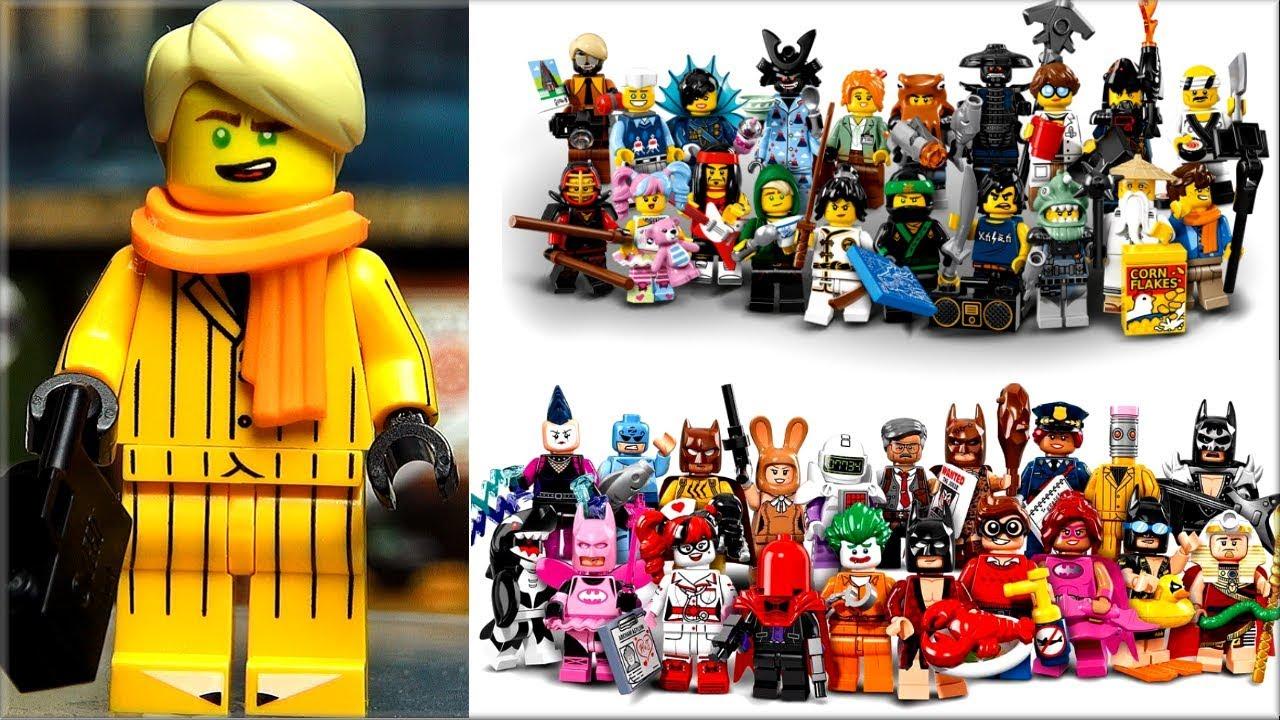 Смотри все Минифигурки Anacondrai Джунгли Lego Ниндзяго 2015 - YouTube