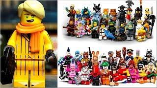 Лего минифигурки Lego Ninjago Movie и LEGO Batman Movie весёлые и странные