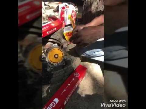 diesel fuel filter change