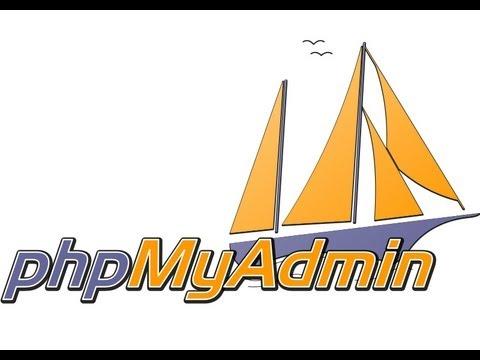 Установка PhpMyAdmin 4 на денвер
