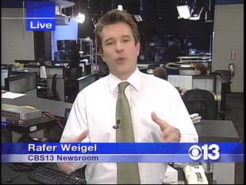 Rafer Weigel news demo KOVR, March 2007