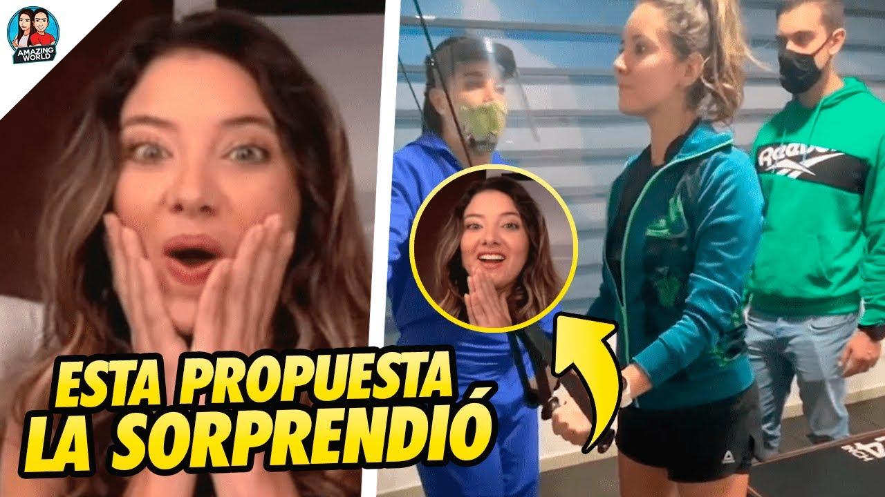 """""""No me lo creo"""": Así RESPONDIÓ Daniella Álvarez a PROPUESTA que le hizo canal de TELEVISIÓN en vivo"""