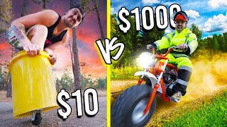 $10 VS $1,000 VEHICLES! *Budget Challenge*
