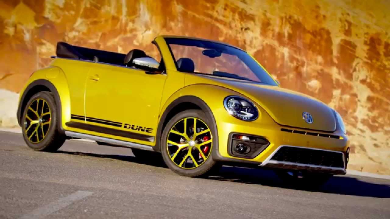 the new volkswagen beetle dune cabriolet design automototv youtube. Black Bedroom Furniture Sets. Home Design Ideas