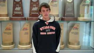 Senior Pat Dupont Comments after Day Three of Camp - Syracuse Cross Country