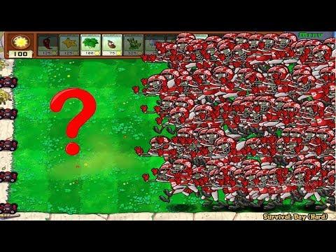 Plants vs Zombies Hack - 9999 Football Zombies vs 999 Conehead Zombie