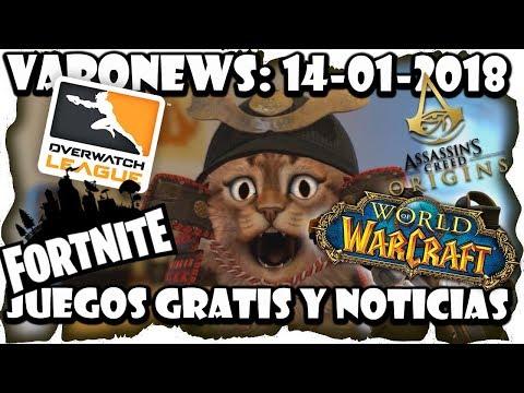 #Juegos #gratis y Noticias: #SeaOfThieves, #StarCitizen, #Fortnite, #Overwatch | 2018-01-14