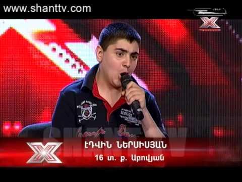 X-Factor 3-Lsumner 07- Edvin Nersisyan 07.06.2014