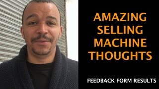 Amazing Selling Machine (ASM 7) Thoughts & Feedback Form Result