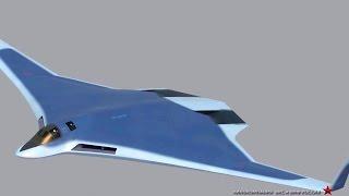 Russia Pak Da Stealth Bomber Simulation [1080p]