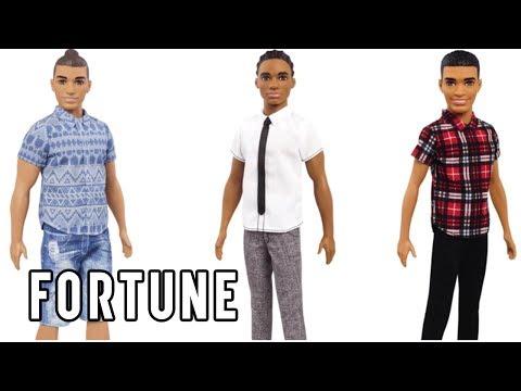 Mattel Just Gave the Ken Doll a Major Makeover I Fortune