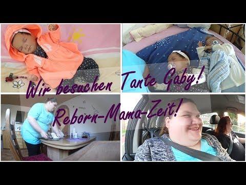 Wir besuchen Tante Gaby! || VLOG! || Reborn Baby Deutsch || Little Reborn Nursery