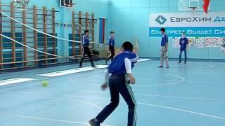 5 В школе №8 учат игре в русскую лапту