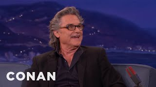 Kurt Russell & Goldie Hawn Broke Into A House To Have Sex  - CONAN on TBS