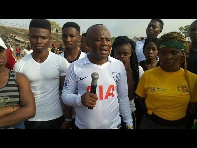 Prof S.I Ofoefule live @ TanamaFun Tv 2018 jogout