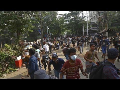إدانة دولية جديدة للقمع الدموي للمتظاهرين ضد الانقلاب في ميانمار …
