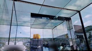 OTIS Ultra High Speed Elevator at Lotte World Tower Seoul Sky, korea (Going Up Only)
