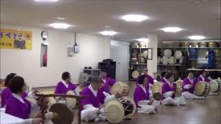 회덕동 굴다리예술단 창단식 축하공연 -  풍물