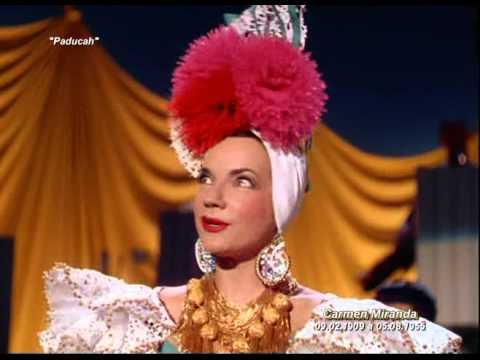 "Carmen Miranda & Benny Goodman in ""Paducah"""