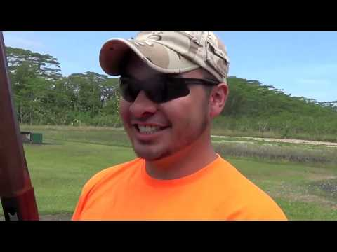 Shooting Doubles at the Hawaii County Trap and Skeet Range (Stuebs