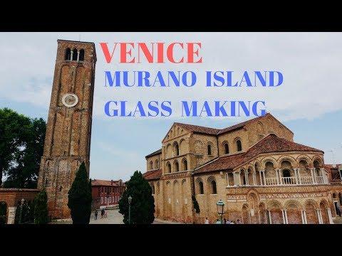 VENICE: Murano Island,