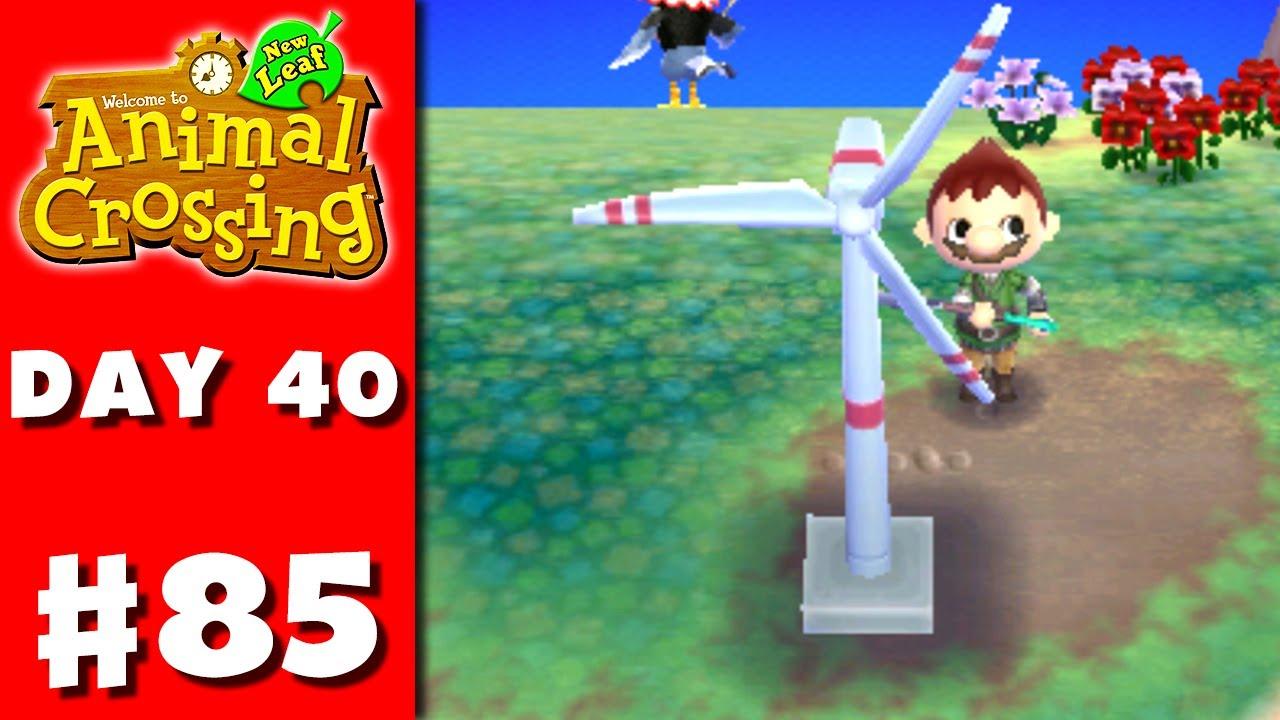 Animal Crossing: New Leaf - Part 85 - Wind Turbine ...