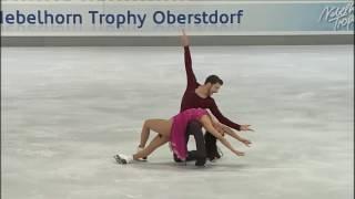 Yura MIN / Alexander GAMELIN FD  Nebelhorn Trophy 2016