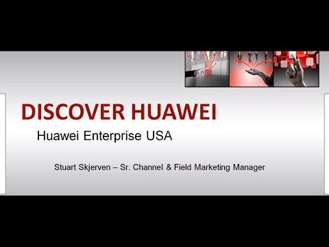 Discover Huawei - Exciting New Technology Vendor (Huawei Enterprise)