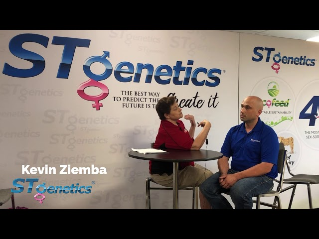 ST Genetics at World Dairy Expo