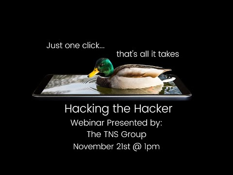 Hacking The Hacker... Don't Be A Sitting Duck