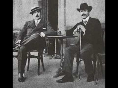 Toscanini prova la Boheme di Puccini (Quando me'n vo')