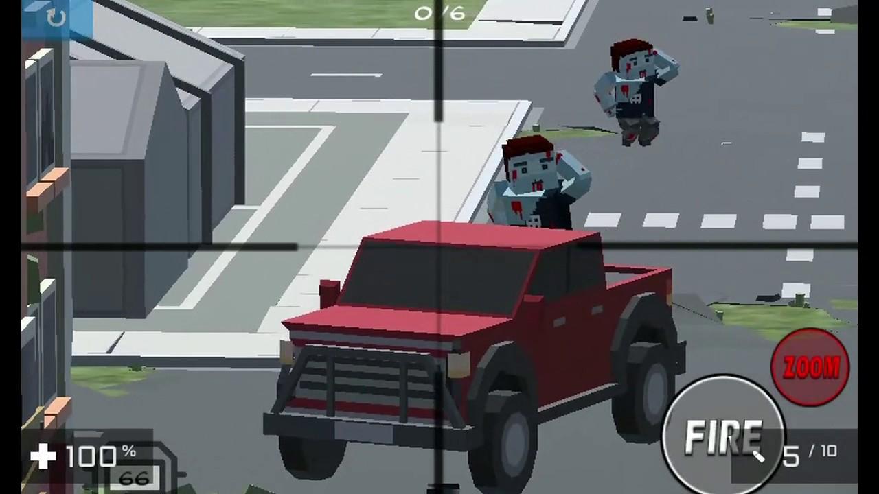 Pixel Zombie Shooter