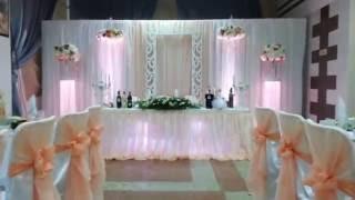 Красивый декор на свадьбу в Гомеле.
