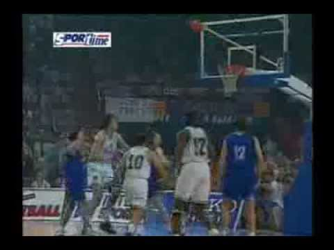 Panathinaikos vs Barcelona, Dominique Wilkins, Euroleague Final 1996
