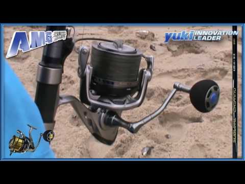 FISHING IN NAMIBIA - WITH AMG REEL & SUBLIME CASTING