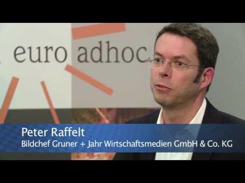 Peter Raffelt, Bildchef Gruner und Jahr Wirtschaftsmedien