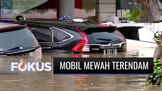 Mobil Mewah Kena Banjir! Sejumlah Kendaraan di Kawasan Elit Kemang Raya Dievakuasi | Fokus