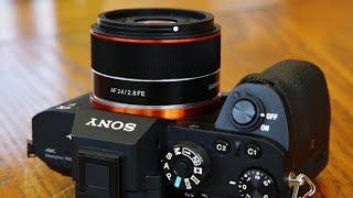 Samyang AF 24mm f/2.8 FE lens review with samples (Full-frame & APS-C)