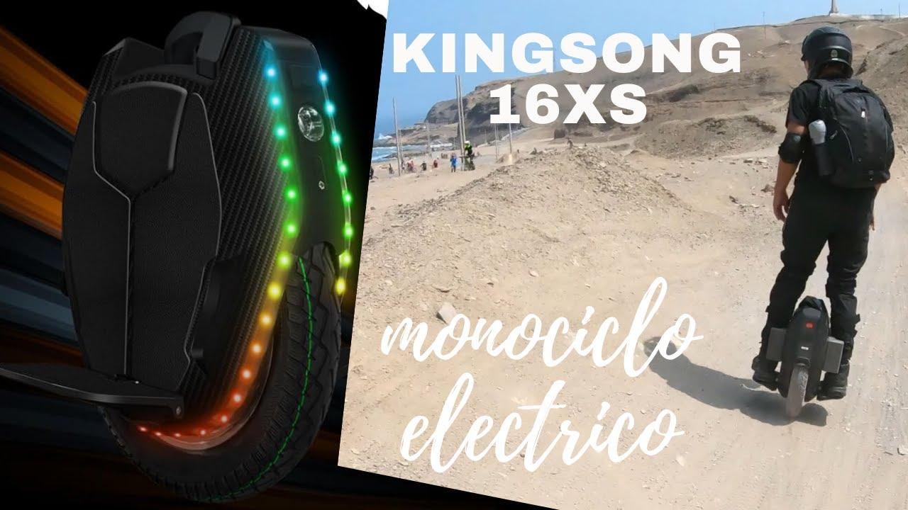 El Mejor Monociclo Electrico 2020 Calidad Precio Kingsong 16xs Lima Peru Youtube