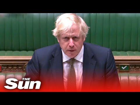 UK COVID-19 lockdown measures could change Monday, Boris Johnson says as he returns to PMQs