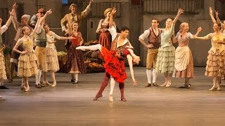 Don Quixote rehearsal trailer (The Royal Ballet)