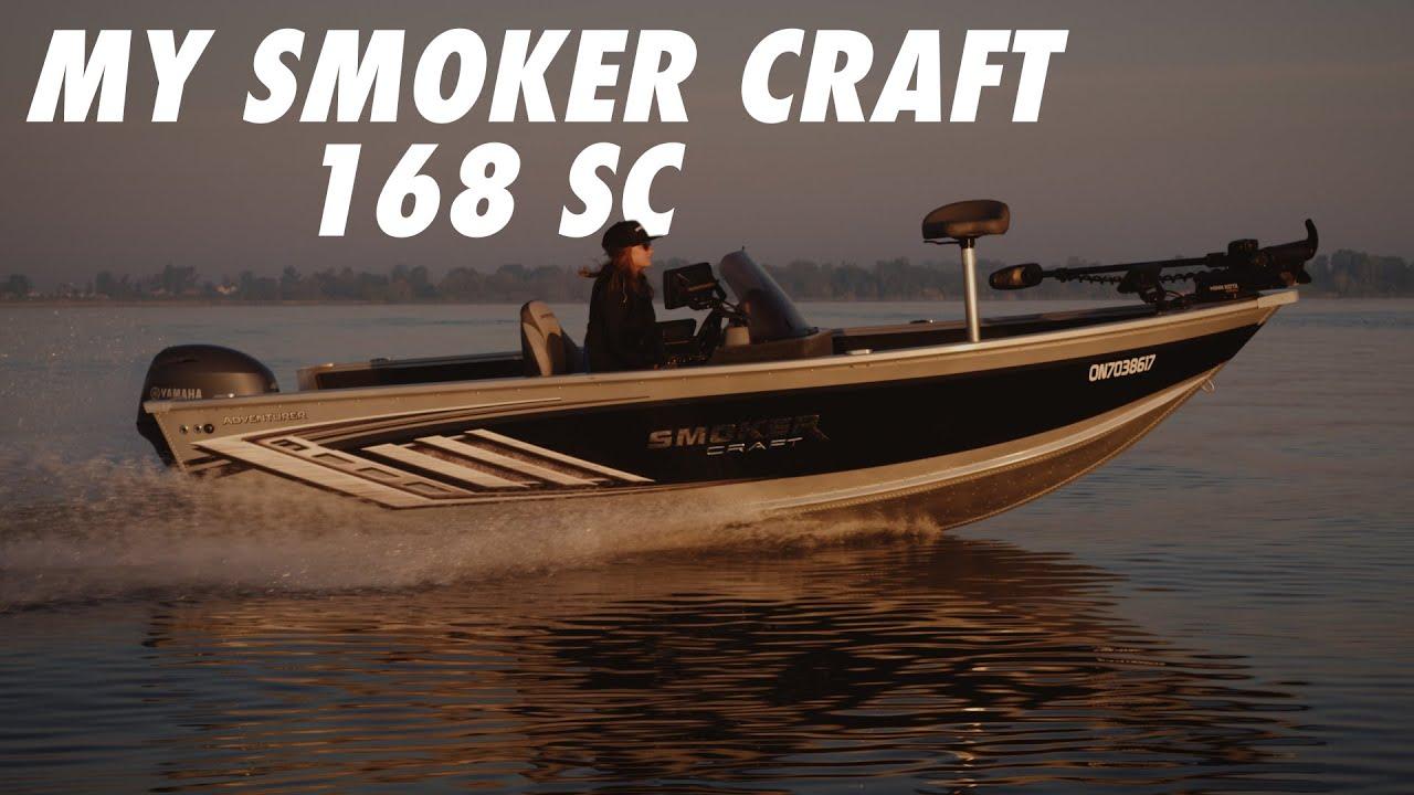 My New Smoker Craft Adventurer 168 SC!