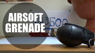 airsoft grenade взрывы и разбор страйкбольных гранат