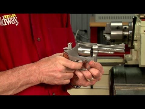 Gunsmithing - How to Lighten and Smooth the Trigger Pull on a Smith and Wesson (S&W) Revolver