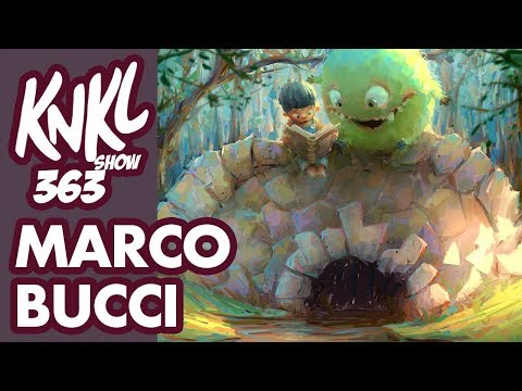 KNKL 363: Interview with MARCO BUCCI! (Learning from a master painter!)
