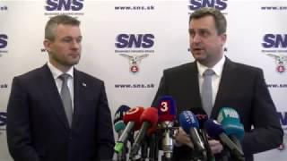 Priamy prenos: Pellegrini povedie rokovanie s Dankom o novej vláde