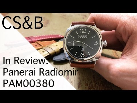 In Review: Panerai Radiomir Black Seal PAM00380 - The Successor to a Legendary Frogman Watch