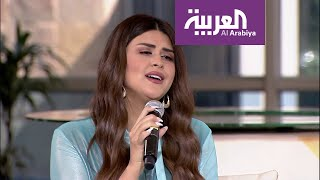 """سلمى رشيد تغني جديدها """"كان كيقول"""" في صباح العربية"""