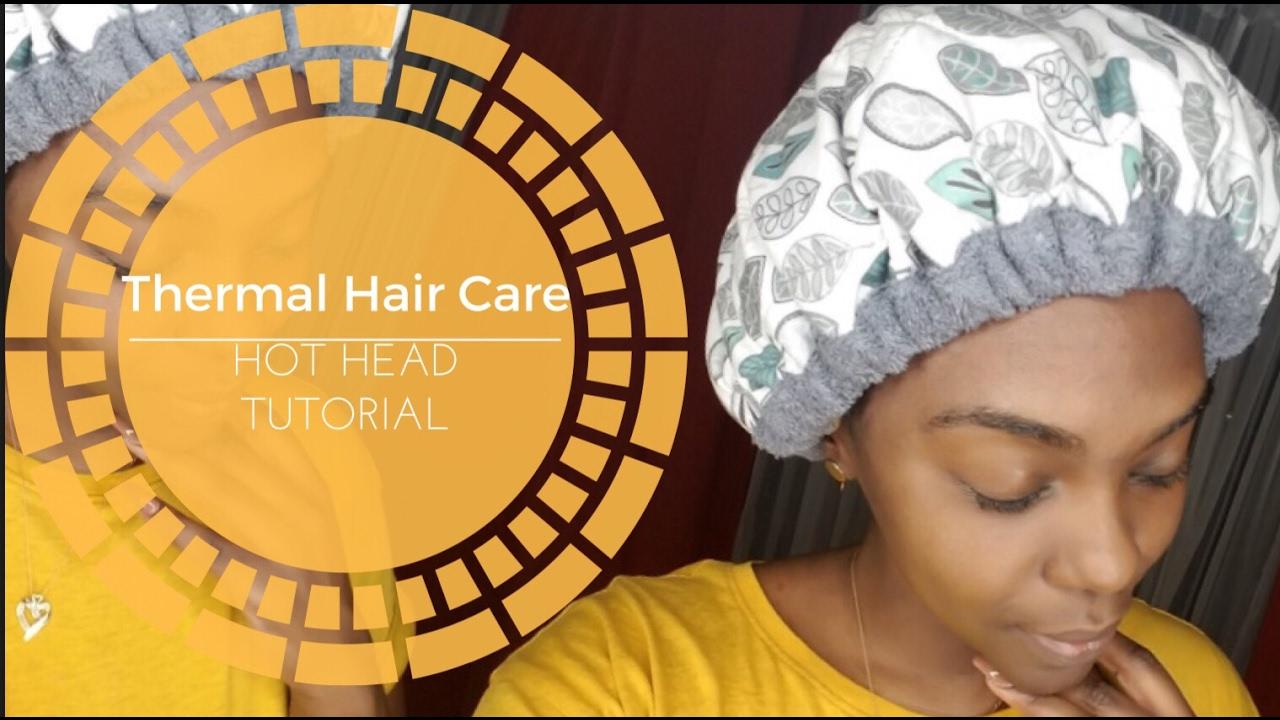 hot head deep conditioning cap tutorial review